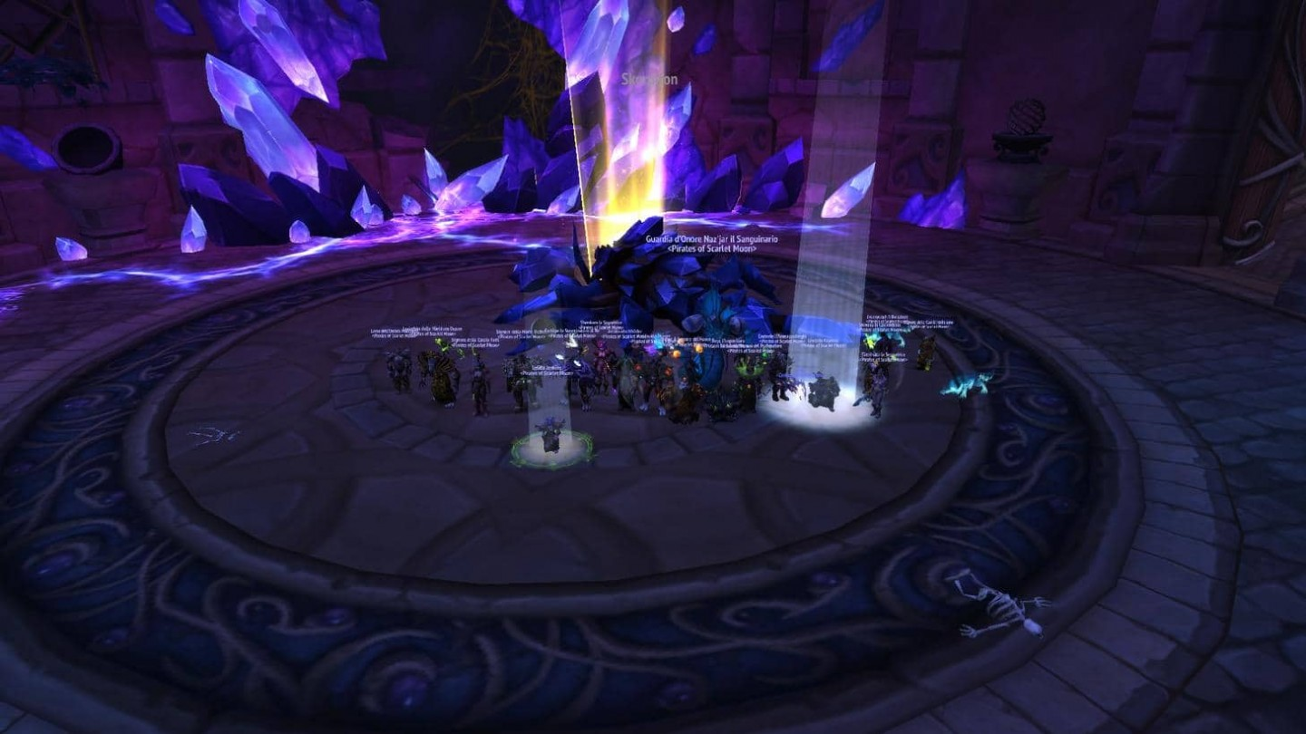 Skorpyron Mythic Defeated